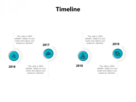 Timeline 2016 To 2019 Ppt PowerPoint Presentation Infographic Template Design Inspiration
