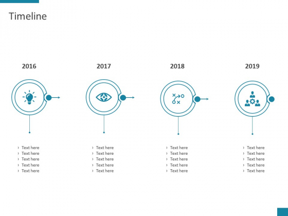 Timeline 2016 To 2019 Ppt PowerPoint Presentation Model Picture