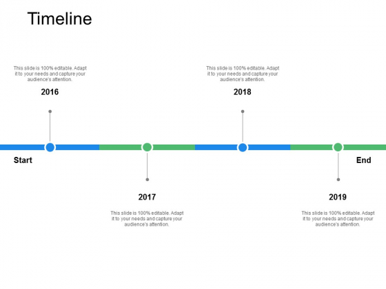 Timeline 2016 To 2019 Ppt PowerPoint Presentation Visual Aids Backgrounds
