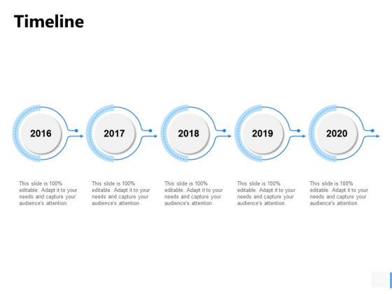 Timeline 2016 To 2020 Ppt PowerPoint Presentation Gallery Graphic Tips