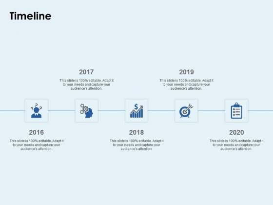 Timeline 2016 To 2020 Ppt PowerPoint Presentation Portfolio Layout