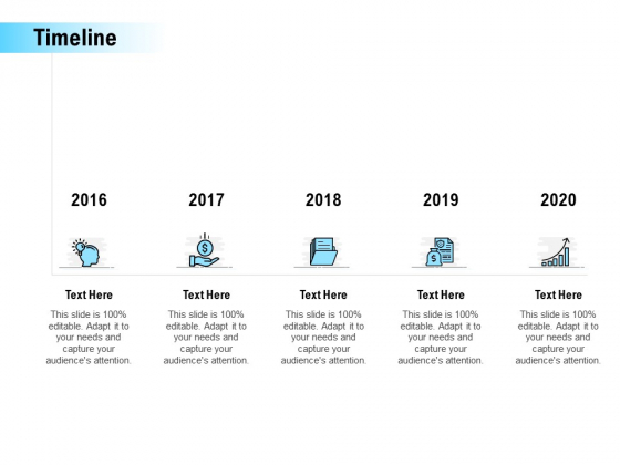 Timeline 2016 To 2020 Ppt PowerPoint Presentation Professional Inspiration