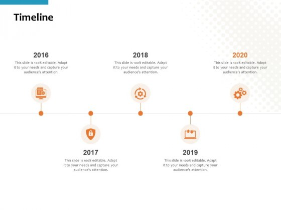 Timeline 2016 To 2020 Ppt PowerPoint Presentation Styles Background Image