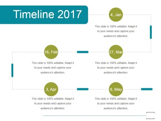 Timeline 2017 Ppt PowerPoint Presentation Templates