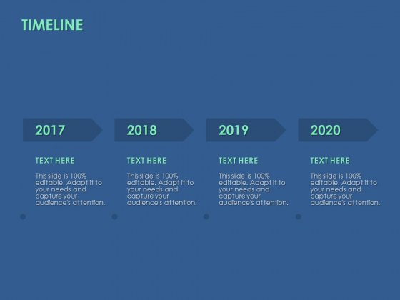 Timeline 2017 To 2020 Ppt PowerPoint Presentation File Graphics Pictures
