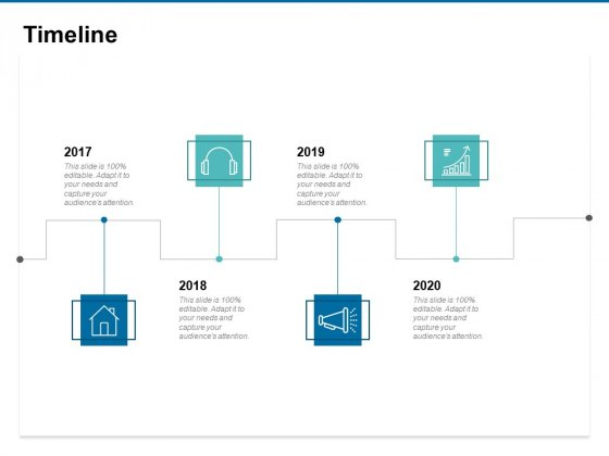 Timeline 2017 To 2020 Ppt PowerPoint Presentation Icon Summary