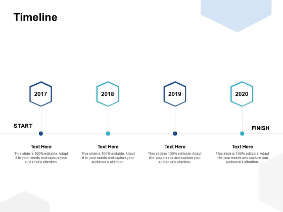 Timeline 2017 To 2020 Ppt PowerPoint Presentation Ideas Example Topics