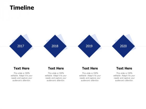 Timeline 2017 To 2020 Ppt PowerPoint Presentation Infographic Template Diagrams