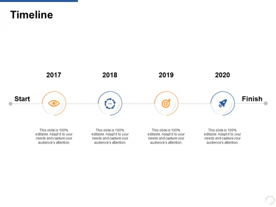 Timeline 2017 To 2020 Ppt PowerPoint Presentation Infographic Template Show
