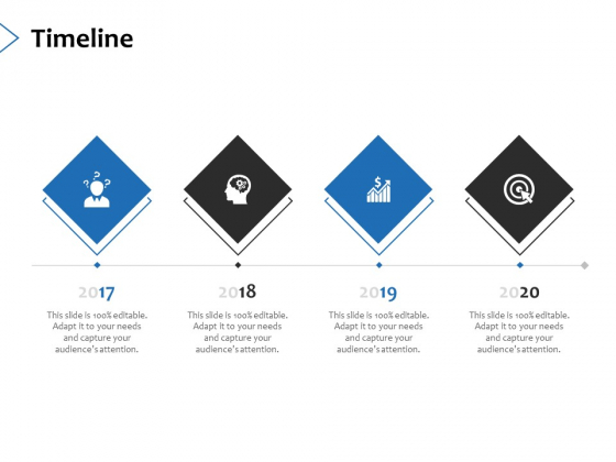 Timeline 2017 To 2020 Ppt PowerPoint Presentation Infographics Graphics Template