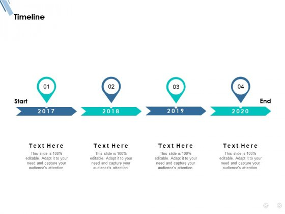 Timeline 2017 To 2020 Ppt PowerPoint Presentation Model Clipart