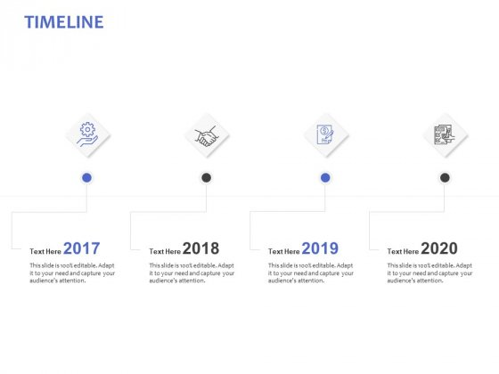 Timeline 2017 To 2020 Ppt PowerPoint Presentation Model Elements