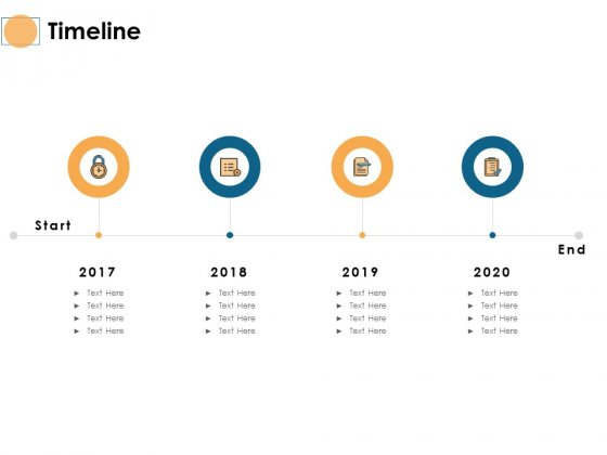 Timeline 2017 To 2020 Ppt PowerPoint Presentation Professional Visuals