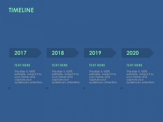 Timeline 2017 To 2020 Ppt PowerPoint Presentation Summary Ideas
