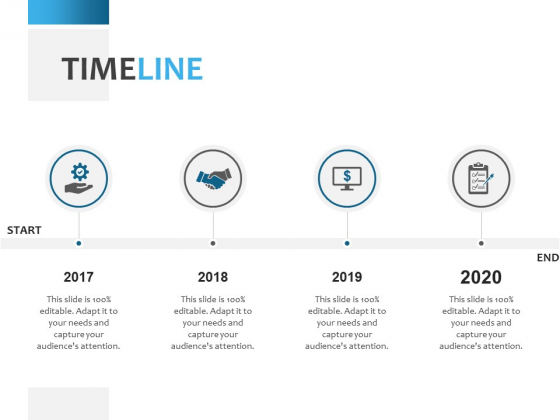 Timeline 2017 To 2020 Ppt PowerPoint Presentation Summary Templates