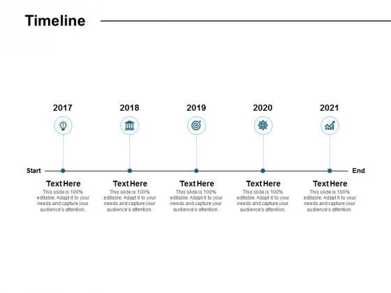 Timeline 2017 To 2021 Ppt PowerPoint Presentation Professional Infographics