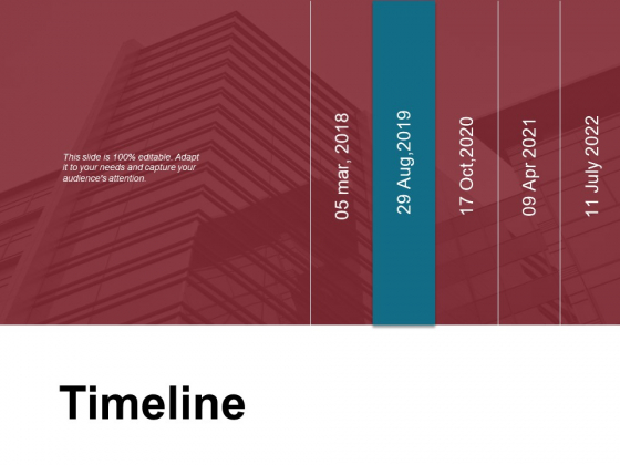Timeline 2018 To 2022 Ppt PowerPoint Presentation Ideas Inspiration