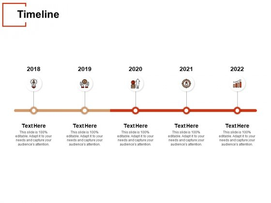 Timeline 2018 To 2022 Ppt PowerPoint Presentation Layouts Ideas
