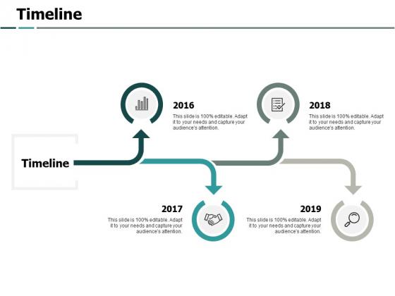 Timeline 4 Years Ppt PowerPoint Presentation Icon Portfolio