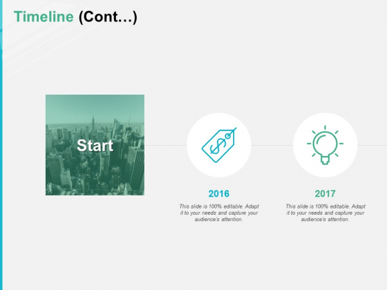 Timeline Cont 2016 To 2017 Ppt PowerPoint Presentation Pictures