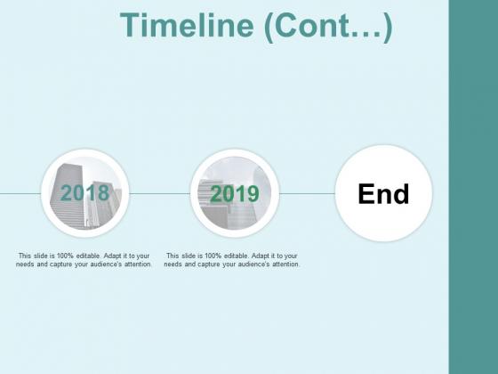 Timeline Cont 2 Year Process Ppt PowerPoint Presentation Portfolio Graphics Tutorials