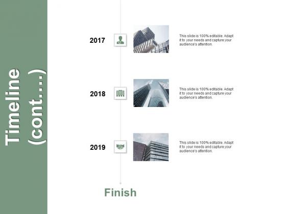Timeline Cont Three Years Process Ppt PowerPoint Presentation Portfolio Slide Portrait