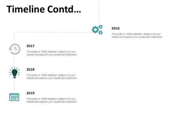 Timeline Contd And Years Ppt PowerPoint Presentation File Influencers