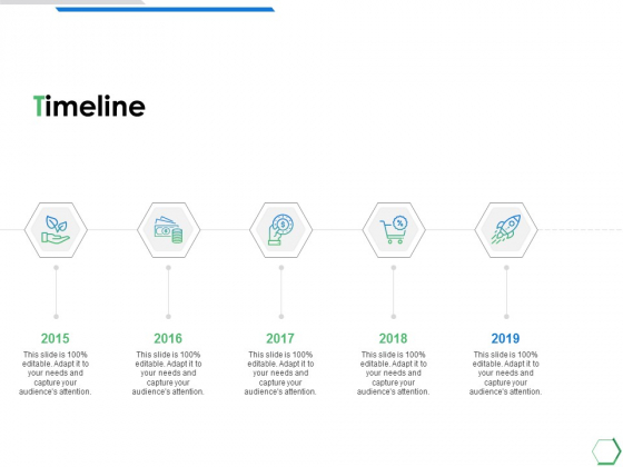 Timeline Five Year Process Ppt PowerPoint Presentation Icon Outline