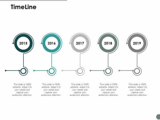 Timeline Five Year Process Ppt Powerpoint Presentation Slides Samples