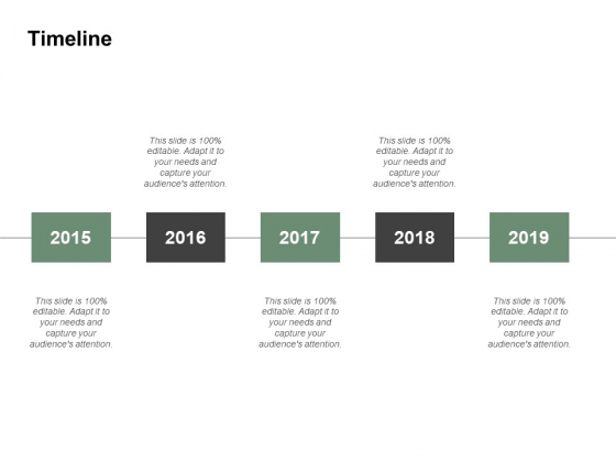 Timeline Five Years Ppt PowerPoint Presentation Outline Outfit