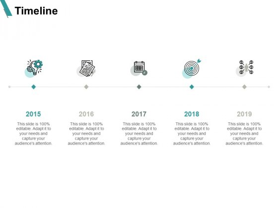 Timeline Five Years Roadmap Ppt PowerPoint Presentation Show Slides