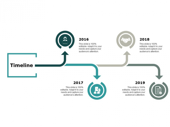 Timeline Four Year Process Ppt Powerpoint Presentation Background Designs