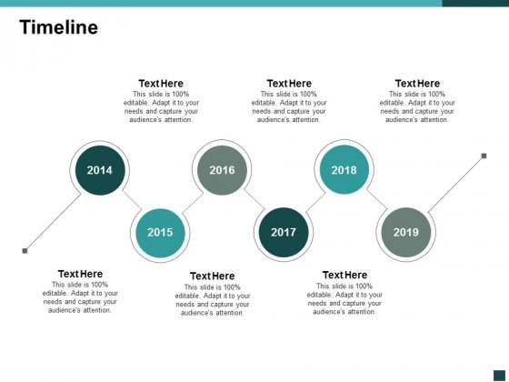 Timeline Six Year Process Ppt Powerpoint Presentation Outline Visuals