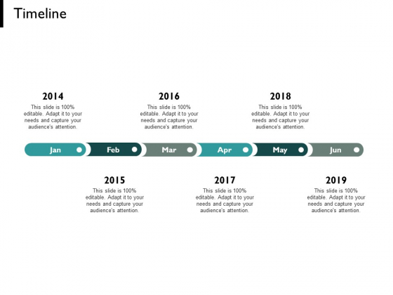 Timeline Six Years And Month Ppt PowerPoint Presentation Styles Format Ideas