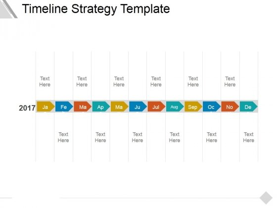 timeline strategy template ppt powerpoint presentation slides
