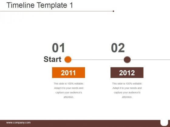 Timeline Template 1 Ppt PowerPoint Presentation Background Designs