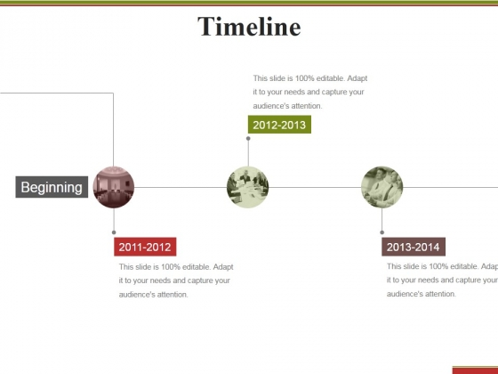 timeline template 1 ppt powerpoint presentation professional format