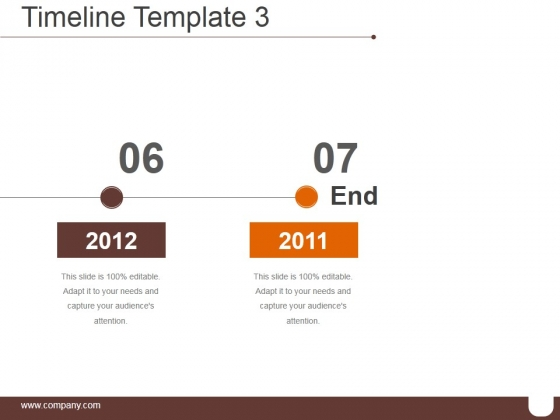 Timeline Template 3 Ppt PowerPoint Presentation Information