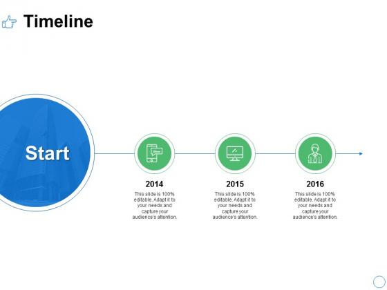 Timeline Three Year Ppt PowerPoint Presentation File Master Slide