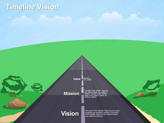Timeline Vision Ppt PowerPoint Presentation Slides Graphic Tips
