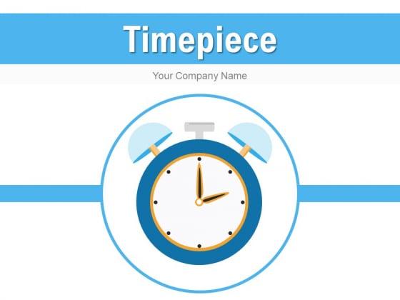Timepiece Smartphone Arrow Ppt PowerPoint Presentation Complete Deck