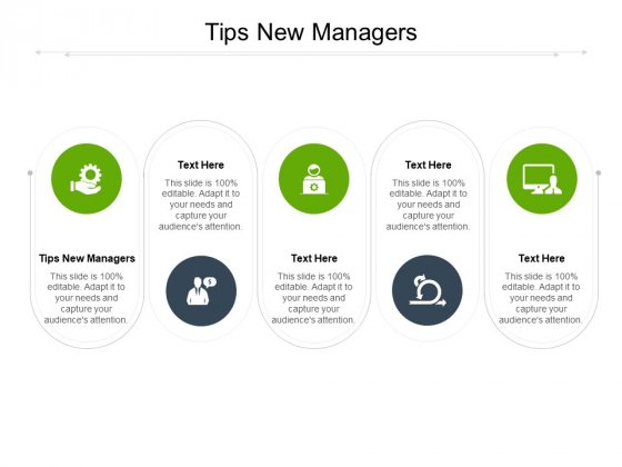 Tips New Managers Ppt PowerPoint Presentation Gallery File Formats Cpb