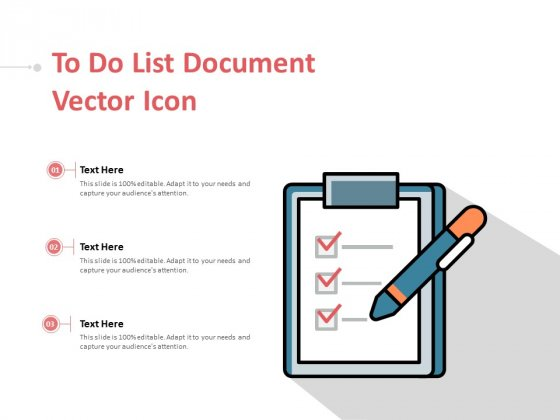 To Do List Document Vector Icon Ppt PowerPoint Presentation Infographic Template Infographic Template