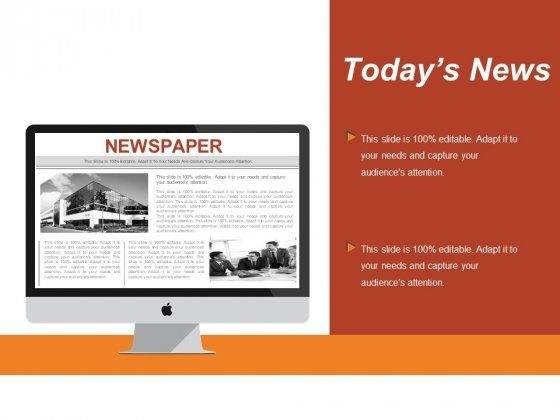 Today S News Ppt PowerPoint Presentation Ideas Microsoft