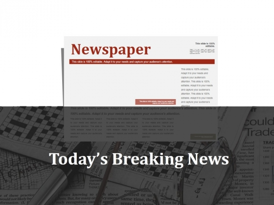 Todays Breaking News Ppt PowerPoint Presentation Portfolio Maker