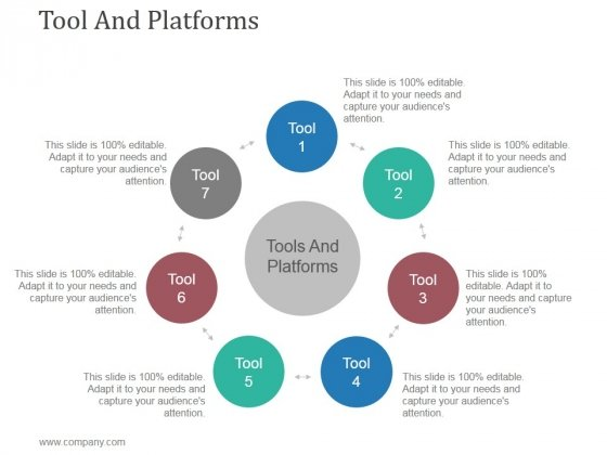 Tool And Platforms Ppt PowerPoint Presentation Outline