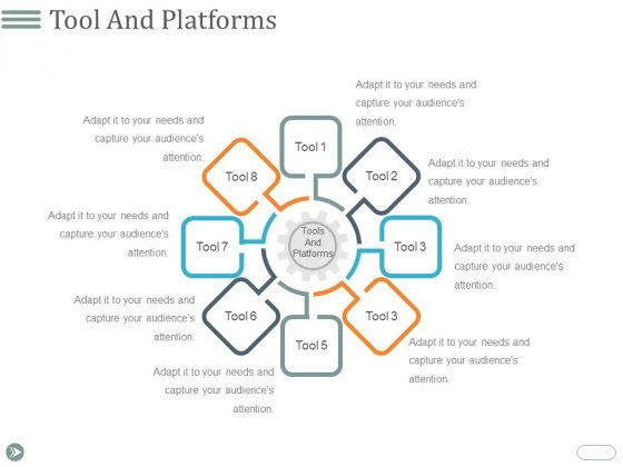 Tool And Platforms Ppt PowerPoint Presentation Portfolio Example