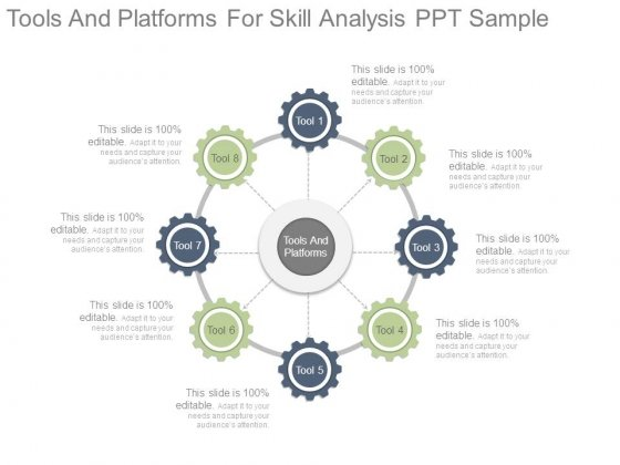 Tools And Platforms For Skill Analysis Ppt Sample