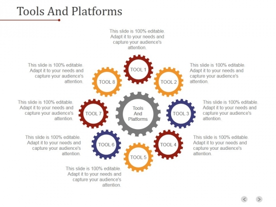 Tools And Platforms Ppt PowerPoint Presentation Good