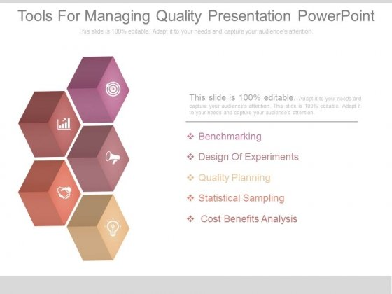 Tools For Managing Quality Presentation Powerpoint